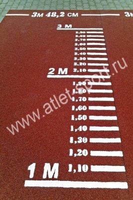 Дорожка для прыжков в длину с места: выбираем снаряд для сдачи нормативов
